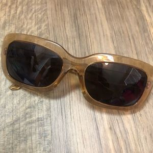 Prada Sunglasses Prescription Honey Brown